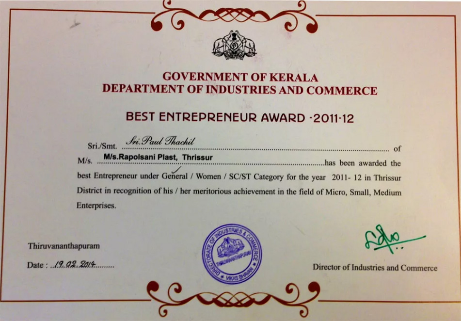 Best Entrepreneurs Awards